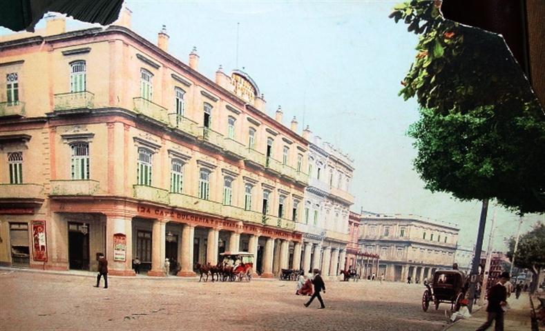 Hotel Inglaterra-foto coloreada antigua