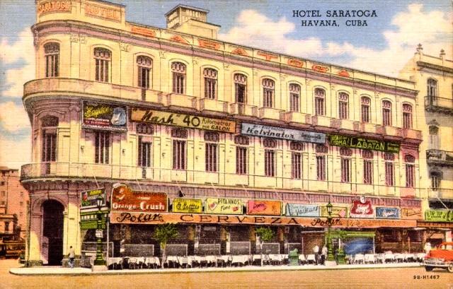 Hotel Saratoga (foto antigua)