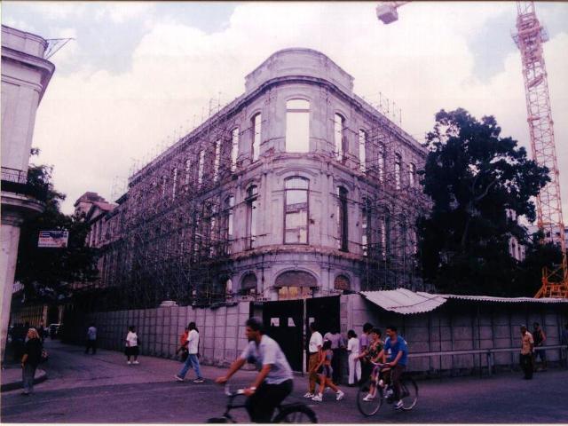 Hotel Saratoga (antes de la restauración)