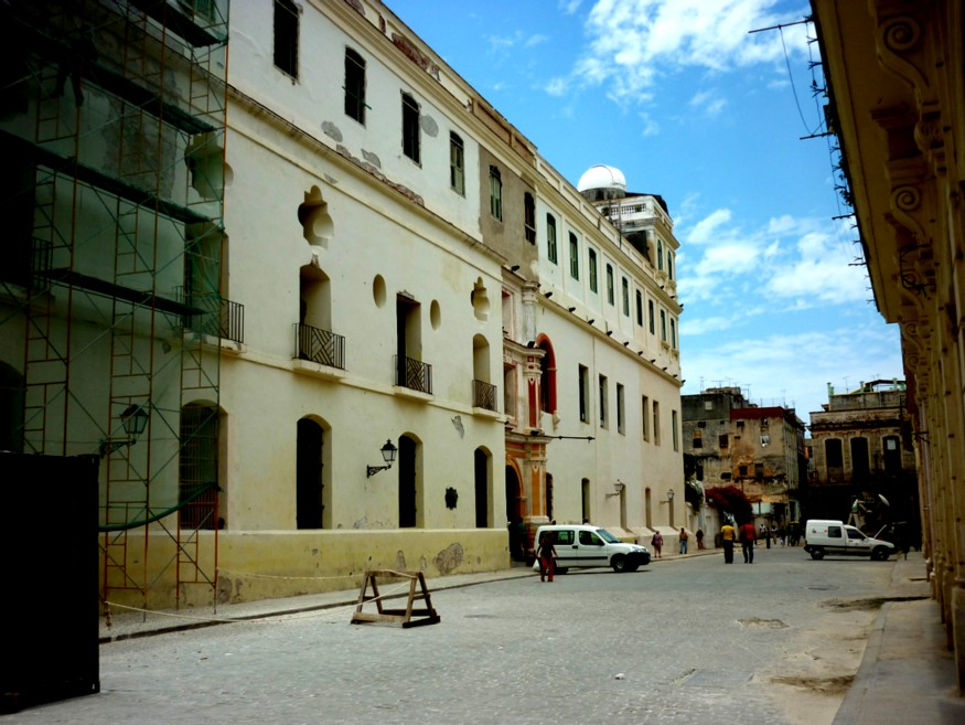 Convento de Belén en obras de restauración