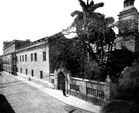 Convento de Belén hacia 1900