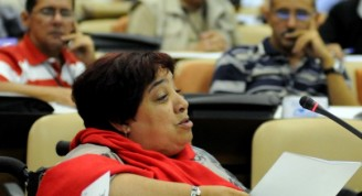 La Dra. Isabel Moya, Directora de la Editorial de la Mujer. Foto: Marcelino Hernández/AIN