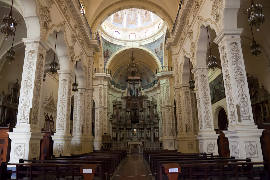 altar mayor iglesia san francisco de Asís