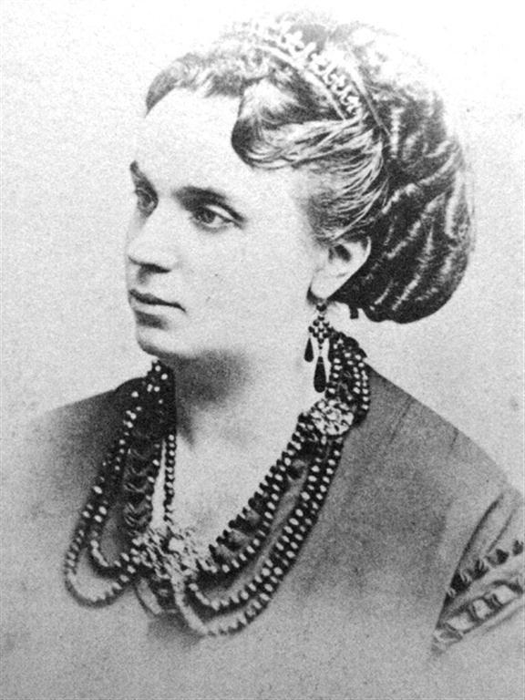 Ángela de Marigny Sentmanat. (New Orleans,1841-La Habana,1891)