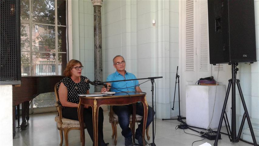 Gladys Collazo Usallán y Nilson Acosta, Presidente y Vicepresidente del CNPC respectivamente