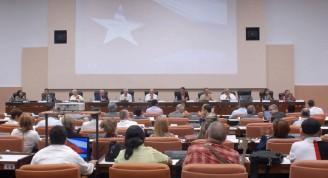 Inauguración de la por el XXII Conferencia científico técnica  de la Construcción .Palacio de Convenciones.convenciones. La Habana 2 de Abril 2018.