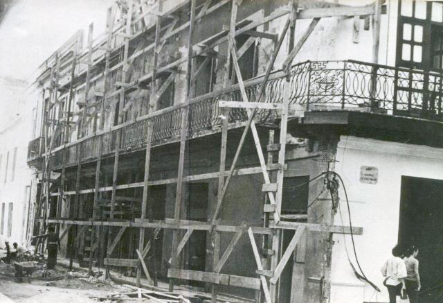 Oficios 6, obras de restauración