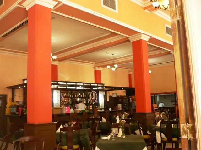 Café Europa, interior