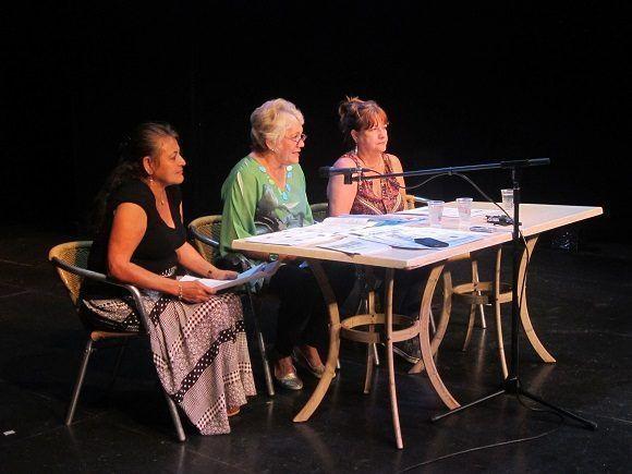 Los organizadores disertaron sobre el programa del evento. Foto: Thalía Fuentes/Cubadebate.