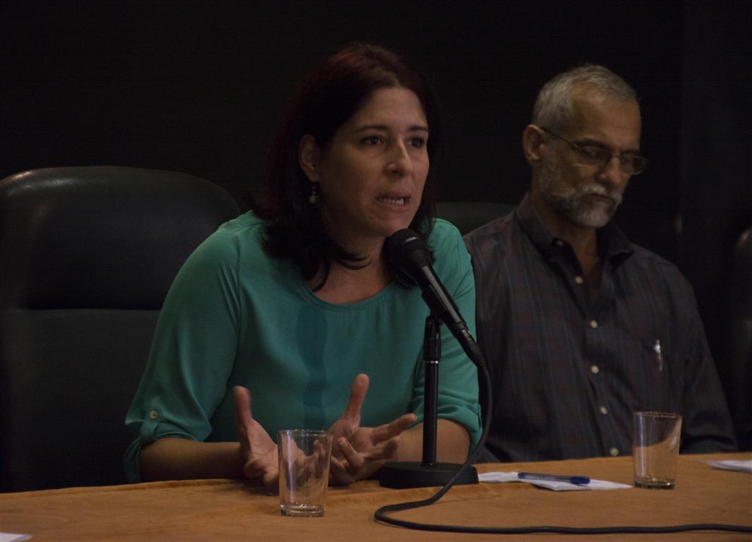 Elena Nápoles, Coordinadora General de Comunicación de la Oficina Regional para América Latina y el Caribe de la UNESCO