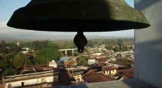 Parte de la ciudad vista desde la torre de la Iglesia Parroquial Mayor.