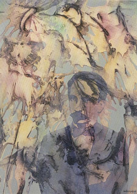 Tu transparencia tangible, 2003 Raúl Santo Serpa Tu transparencia tangible, 2003 Técnica mixta sobre cartulina 71 x 52 cm Colección del artista