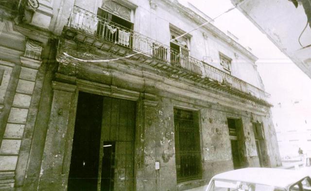 Obrapía 111, antes de la restauración
