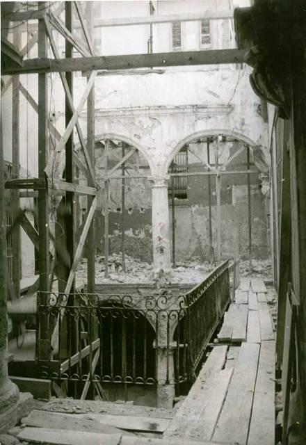 3-Obrapía 111, interior durante las obras