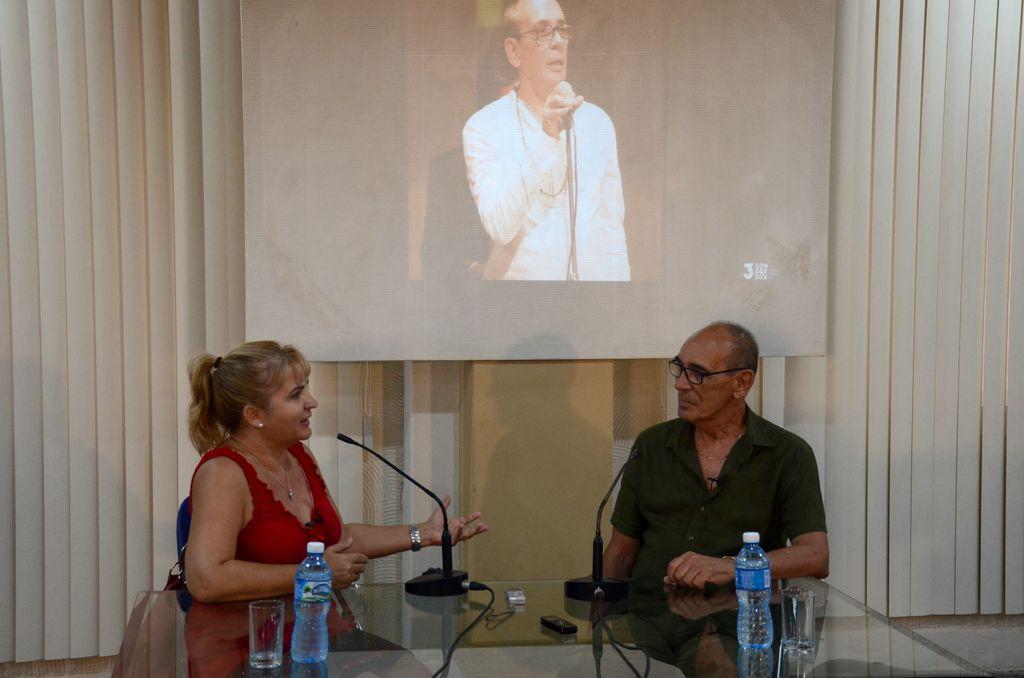 Manolo Micler junto a Magda Resik
