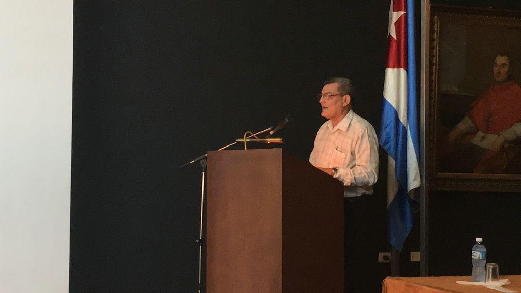 Presidente Nacional del Secretariado de la UNHIC, Jorge Luis Aneiros Alonso