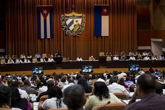 Segunda jornada de trabajo del Primer Periodo Ordinario de Sesiones de la IX Legislatura de la Asamblea Nacional. Foto: Irene Pérez/ Cubadebate.