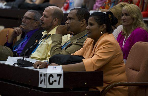 Primer Periodo Ordinario de Sesiones de la IX Legislatura de la Asamblea Nacional. Foto: Irene Pérez/ Cubadebate.