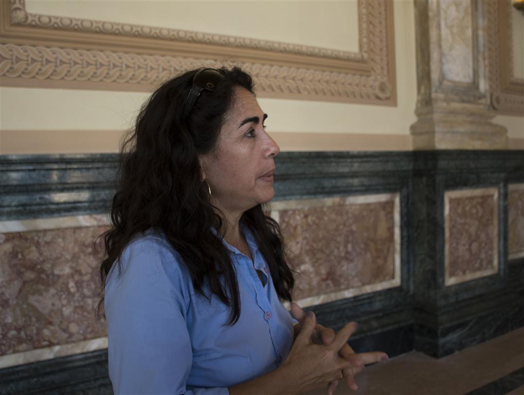 Mariela Mulet Hernández, jefa de la Unidad Presupuestada de Inversiones (UPI) Prado