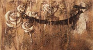 Agustín Bejerano Imágenes en el tiempo XI, 2001 Técnica mixta sobre tela 93 x 85 cm