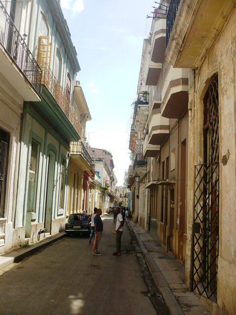 Calle Tejadillo hacia San Ignacio