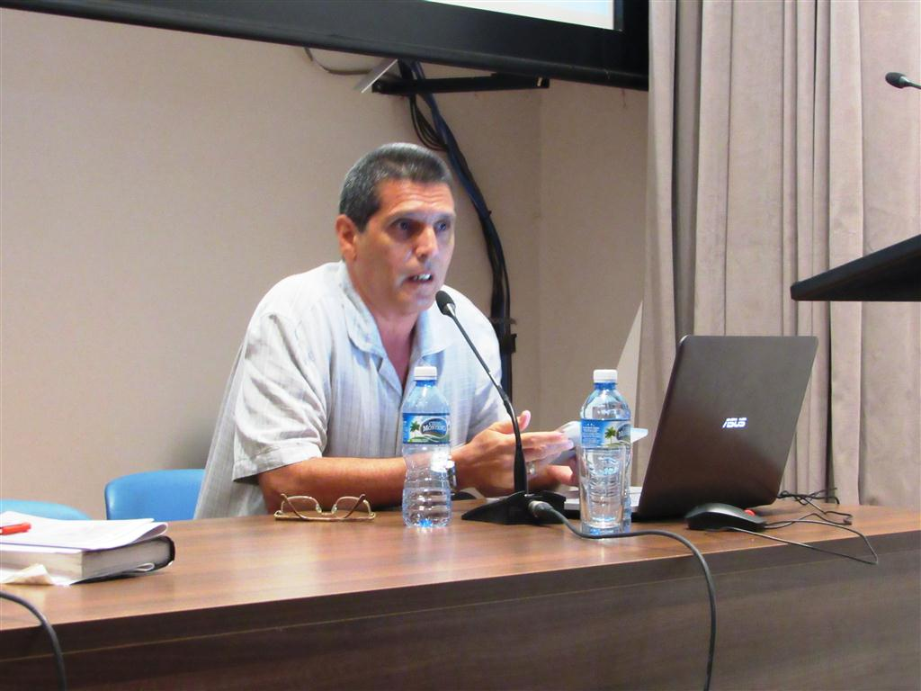Edelberto Leiva Lajara, jefe del Departamento de Historia de Cuba de la Universidad de La Habana
