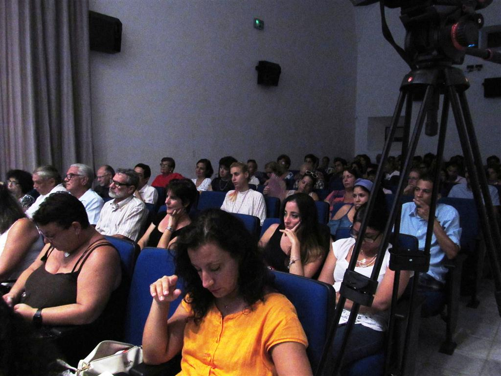 Público asistente al primer taller Vida cotidiana en La Habana del siglo XVI.