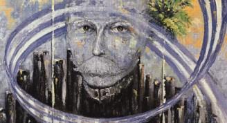 Para un amigo, 1998  Ángel Mayet Para un amigo, 1998 Óleo sobre tela 70 x 50 cm Colección del artista
