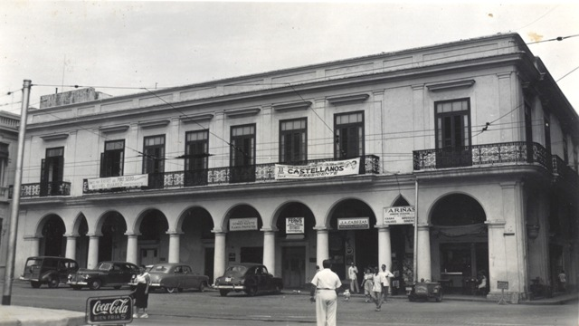 Casa de Francisco Goyri y Beascoechea, década de 1850. Foto de 1951