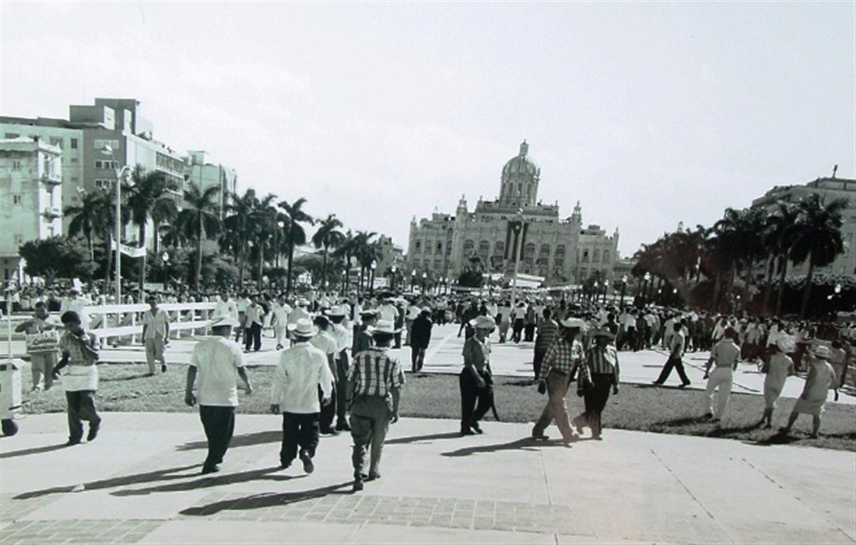 El parque, un 28 de octubre de 1959