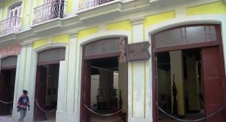Casa de África detalle de fachada