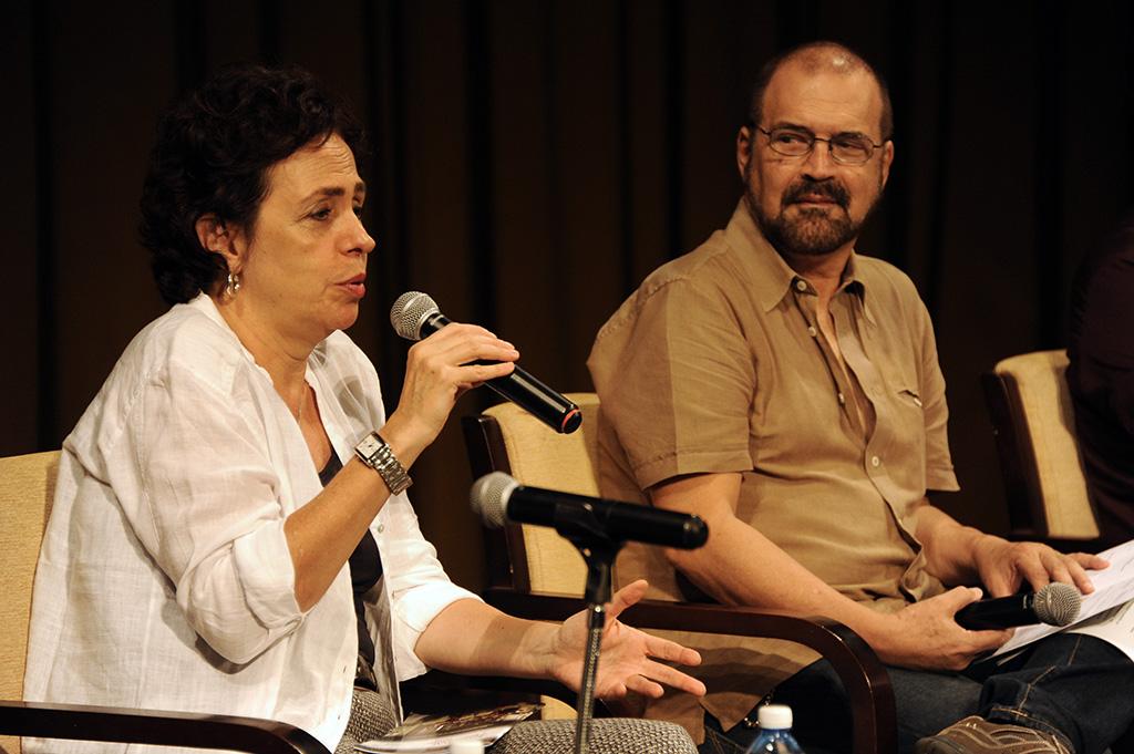 Momentos de la conferencia de prensa del Festival Mozart Habana 2018