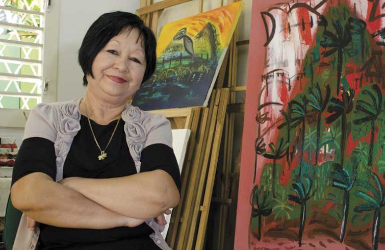 La obra de Flora Fong estará presente en la Fiesta de la Cubanía