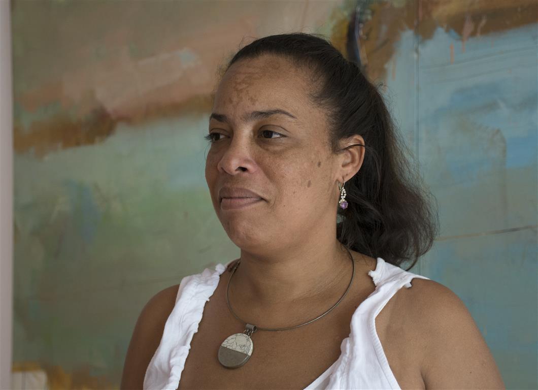 Yenisel Torres Arzuaga, directora del Centro Provincial de Arte Plásticas en Granma