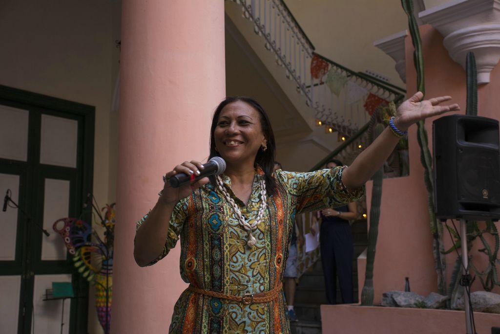 Maria Victoria Rodríguez recordó a Celina González