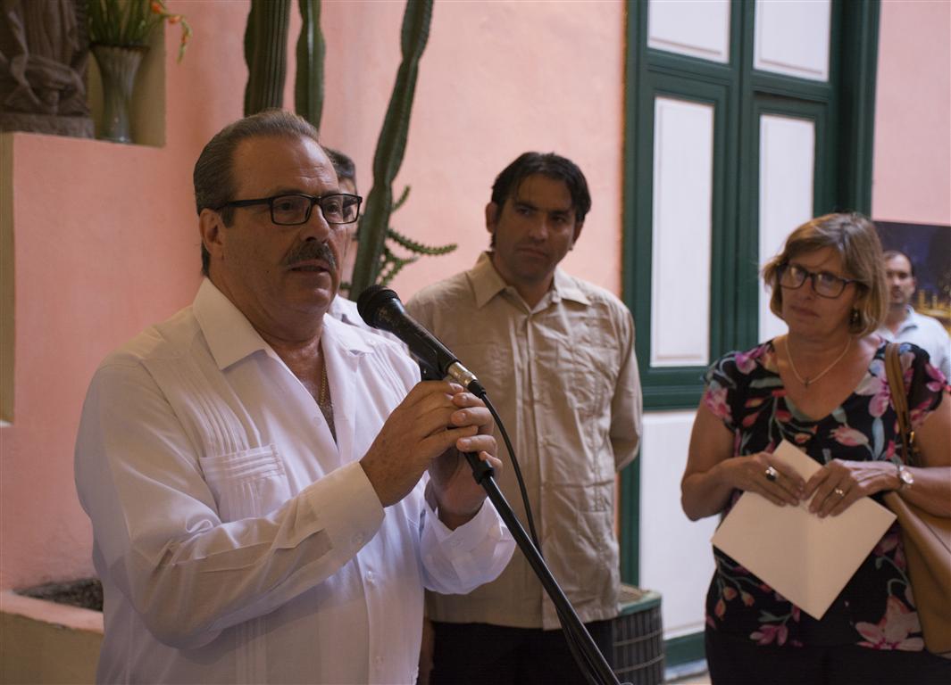 Excelentísimo Señor Enrique Martínez Martínez, Embajador de México en La Habana