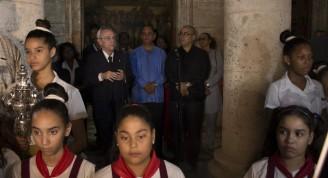 Tradicional acto que cada año realiza la Oficina del Historiador de la Ciudad para saludar un nuevo aniversario de La Habana. Foto: Alexis Rodríguez