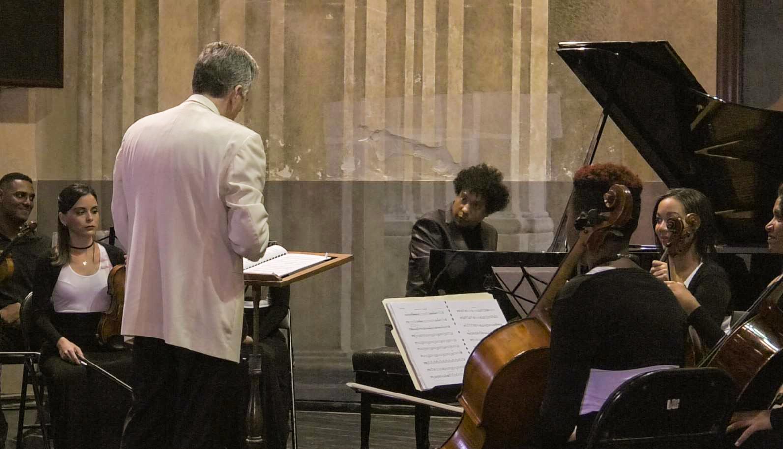 Joel Revzen en Cuba y Aldo López-Gavilán