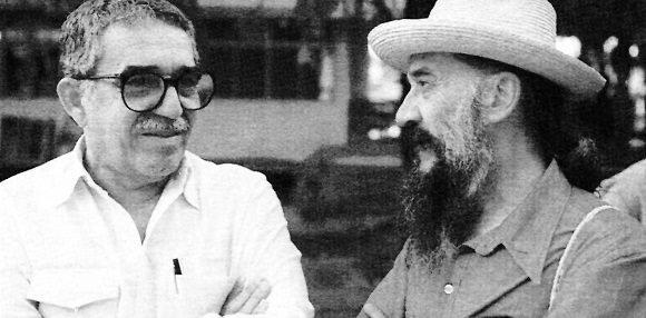 Dos genios de la cultura iberoamericana: Fernando Birri (der.) y Gabriel García Márquez. Foto: Nuevo Cine Latinoamericano.