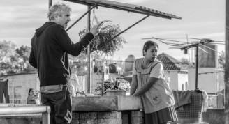 """Alfonso Cuarón durante el rodaje de """"Roma"""". Foto: Publinews."""
