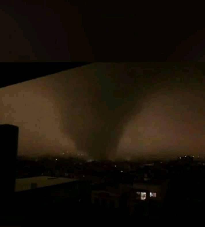 El tornado, Habana 2019. Foto: Grettel Milán / Cubadebate
