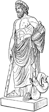 Dios Asclepios.