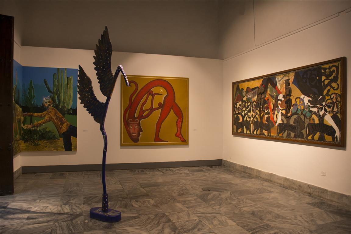 """Exposición """"Unánime presencia"""""""