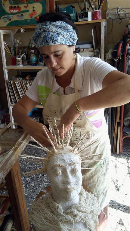 Trabajando esculturas blandas
