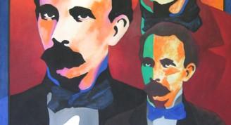 """""""Martí"""", Raúl Martínez, 1971, Tinta sobre cartulina, 72 x 50 cm"""