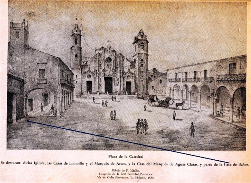 Antigua Casa de Baños, plaza de la Catedral