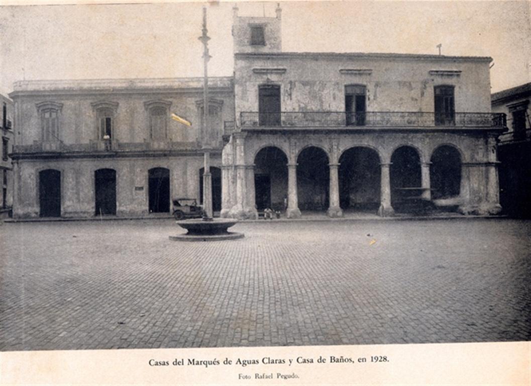 Casa de Baños en la década de 1920