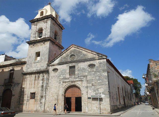 Iglesia del Espíritu Santo en la calle Cuba y Acosta
