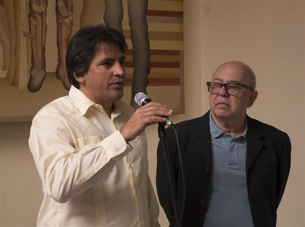 El Dr. Michael González, Director de Patrimonio de la Oficina del Historiador de la Ciudad de La Habana