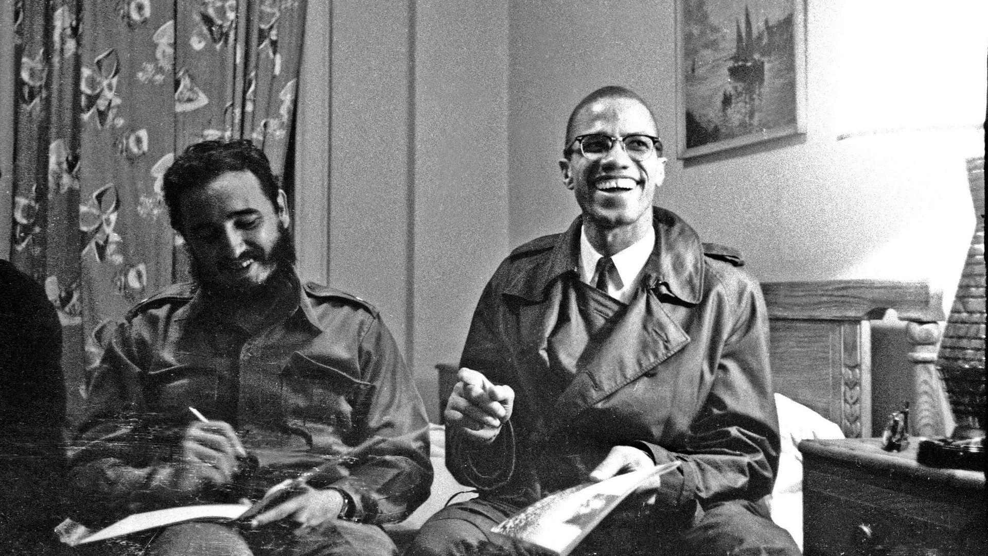 Fidel y Malcolm